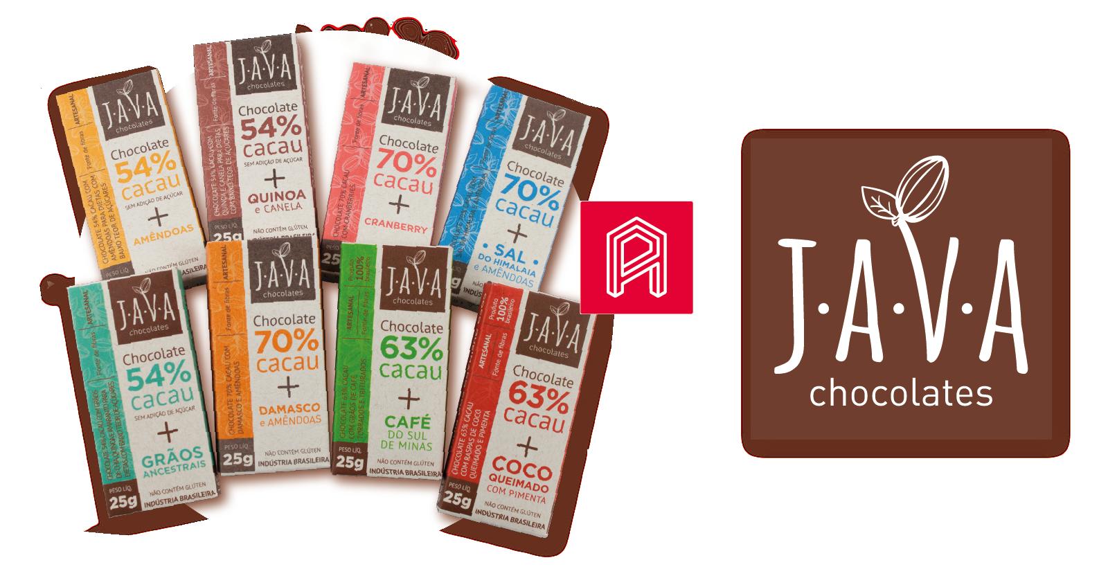 Java Chocolate – Design de Embalagem